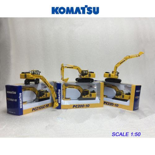 ventas en linea Komatsu Komatsu Komatsu PC200-10 + PC210LC-10 + PC220-10 Excavator Modelo 1 50 Colección 3 unidades  deportes calientes