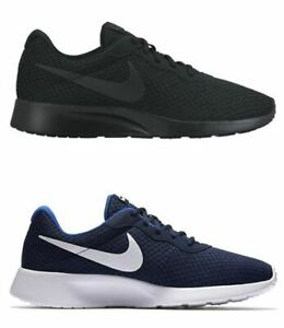 Scarpe-Nike-Tanjun-Uomo-Nera-o-Blu-in-Tessuto-Traspirante-Estiva-Ammortizzata