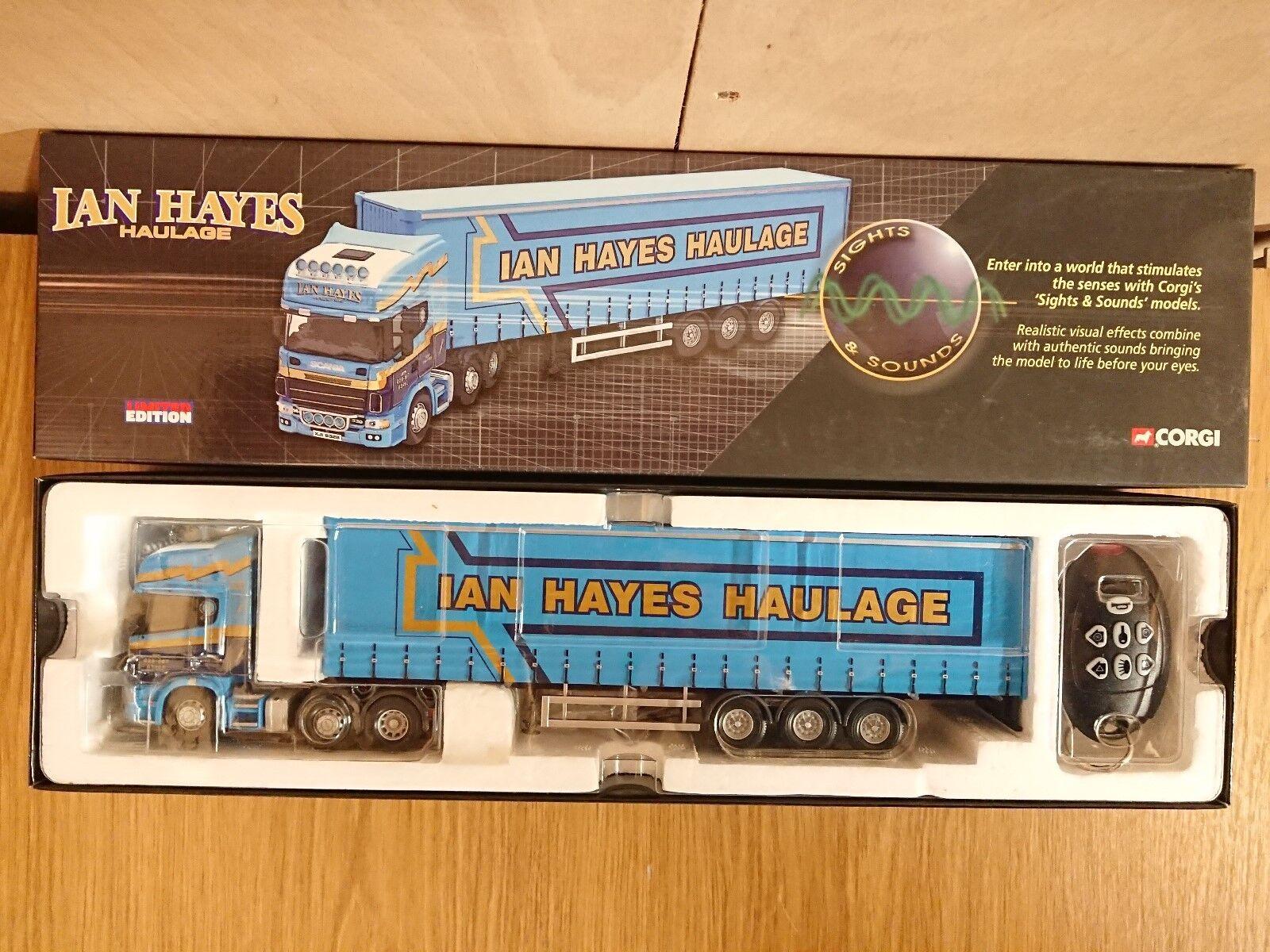 preferente Corgi Corgi Corgi CC12935 vista y sonido Scania Topline Ian Hayes Ltd Edition no 0001 de 3310  diseño único
