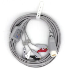 Philips Ecg Cable 3leads For Hp Codemaster 100 Compatible Probe Clip Iec 12pin