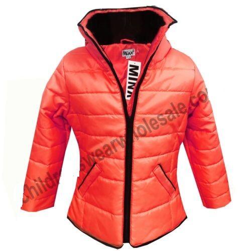 New Girls Kids Padded Down Puffa Jacket School Coat Age 4 5 6 7 8 9 10 11 12 13