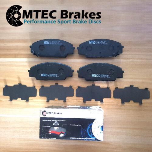 Fiat 500 1.4 Abarth 11//13-10//14Front Brake Discs /& MTEC Premium Brake Pads