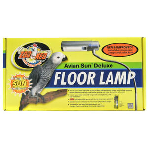Zoo Med Avian Sun Deluxe Floor Lamp 97612346107 Ebay