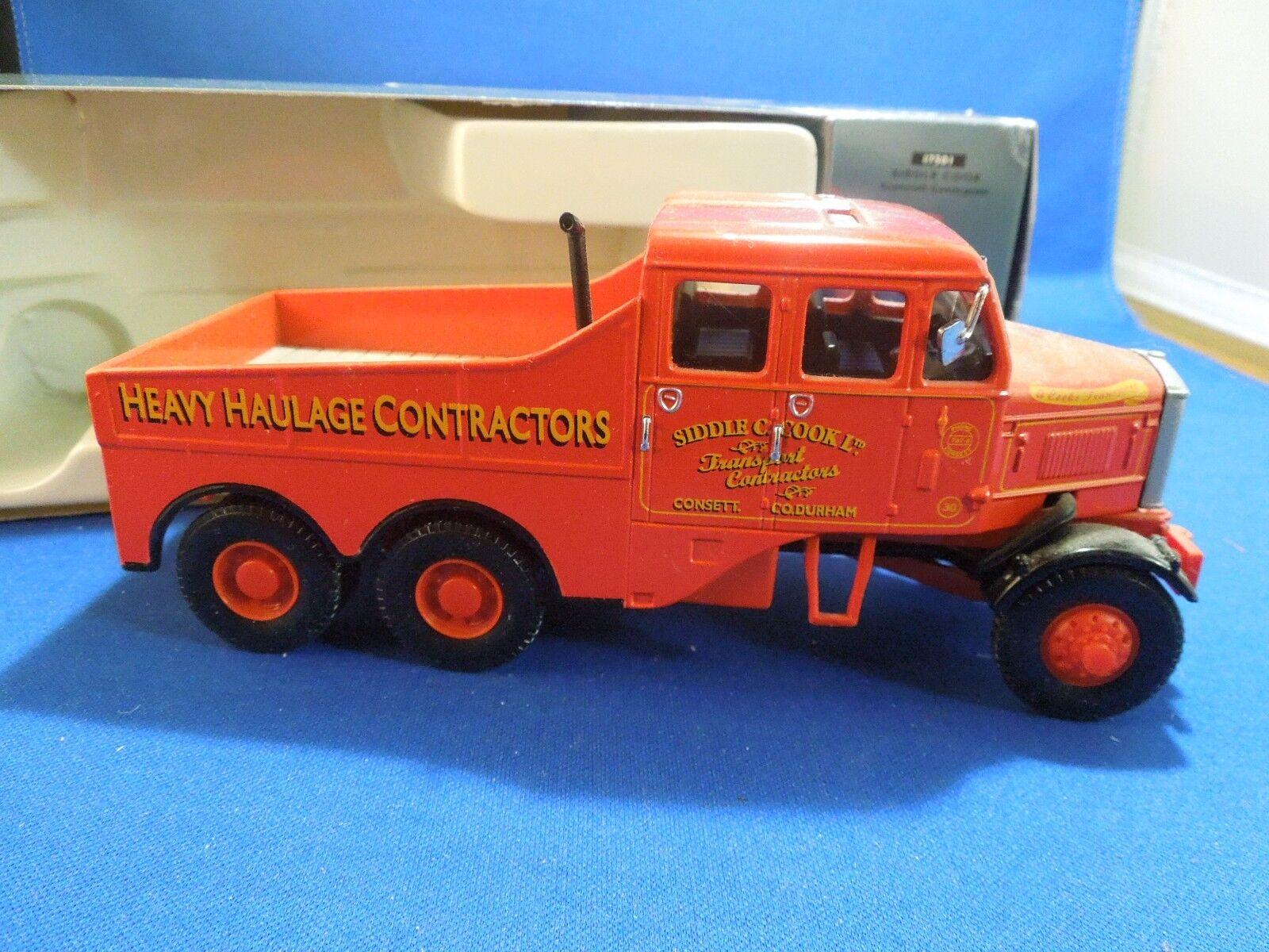 Corgi Classics transporte pesado Siddle Cook Scammell Constructor Constructor Constructor Modelo A Escala 87a7c2