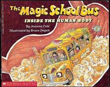 The Magic School Bus: Inside the Human Body by Joanna Cole (1990, Paperback)