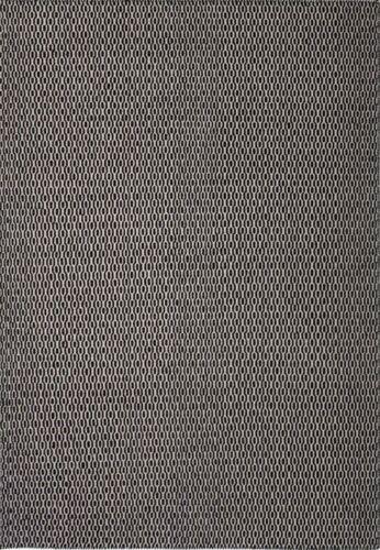 S BONNI BLACK SWEDISH GEOMETRIC WOOL WOVEN MODERN RUG 135x190cm *FREE DELIVERY