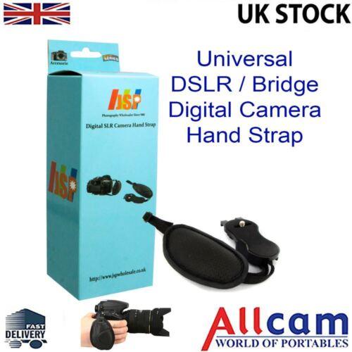 JSP de pulsera de cuero correa de mano agarre para DSLR Puente Cámara Canon Sony Nikon Fuji