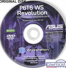 ASUS GENUINE VINTAGE ORIGINAL DISK FOR P6T6 WS Revolution Motherboard Disk M1471