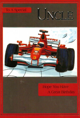 traditional uncle happy birthday card 14 x cards to choose from!