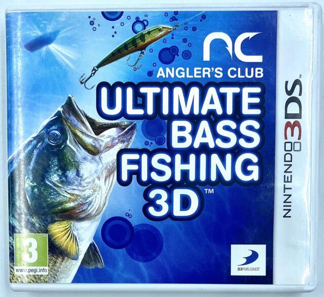Ultimate Bass Fishing 3D - Jeu NIntendo 3DS - PAL FR