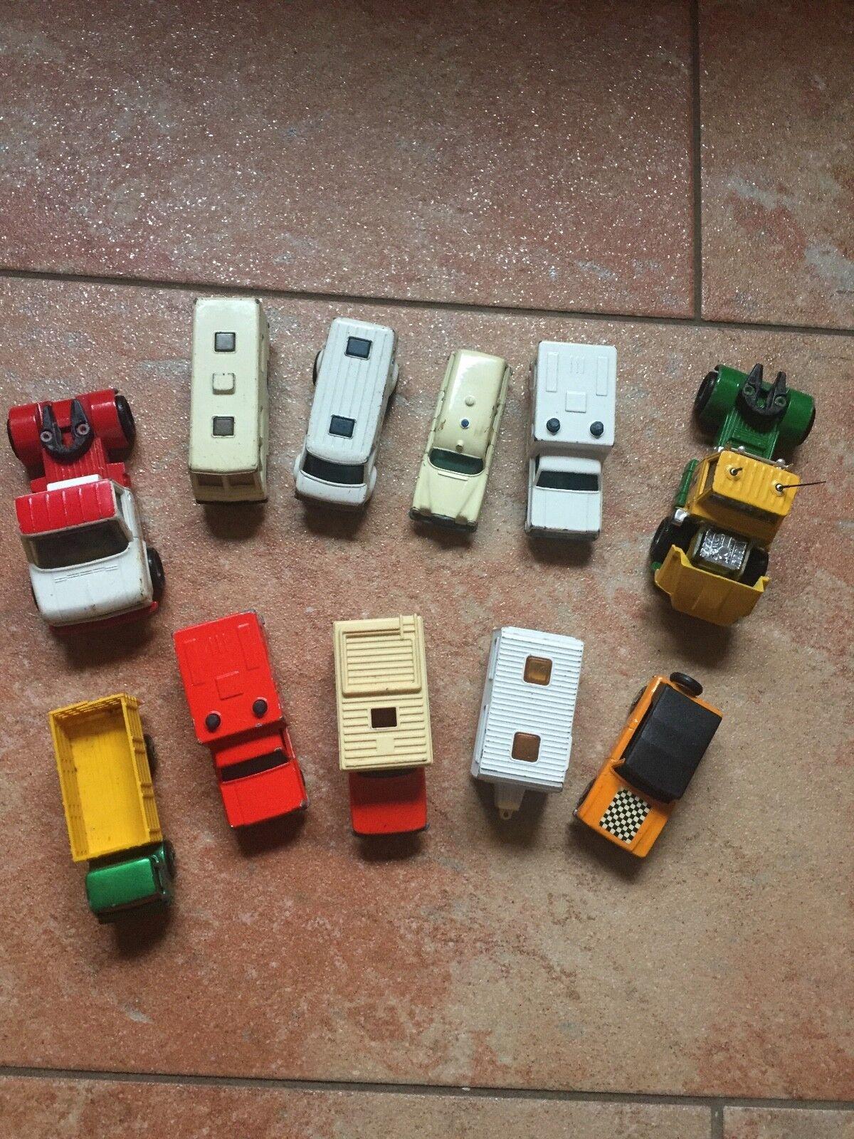 Matchbox Modellautos 11Fahrzeuge 1970  | Ausgezeichnet
