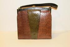 Vintage Snake or Lizard Skin Handbag Purse Beautiful Colors & Fabulous Condition