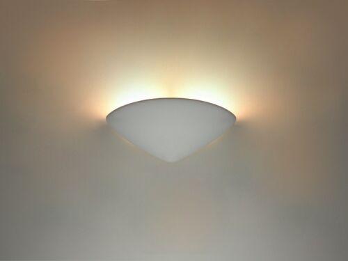 Wandlampe Wandleuchte LED Designerleuchte Flurlampe Lampe Style 160 Weiß Keramik