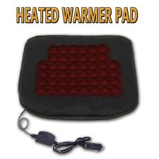 Zone Tech Car Heated Seat Chair Cushion Hot Cover 12v Heater Warmer Pad
