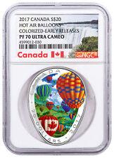 2017 Canada 1 oz Silver $20 Hot Air Balloon SKU#154157