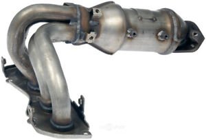 Exhaust-Manifold-with-Integrated-Catalytic-Converter-Front-Dorman-674-028
