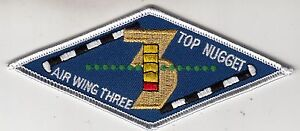 CARRIER AIR WING 9 TOP 5 NUGGET PATCH