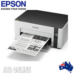 Details about Epson EcoTank ET-M1100 InkJet Printer Register for a 2 Year  Wty
