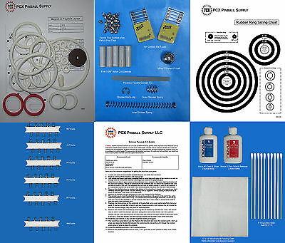 Includes Rubber Ring Kit 1974 Gottlieb Duotron Pinball Tune-up Kit
