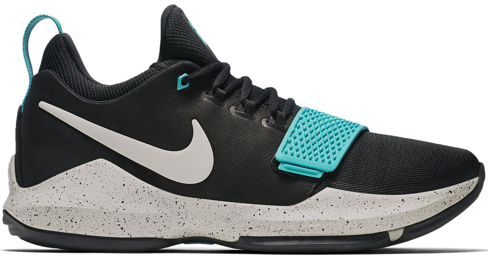 Mens NIKE PG 1 Black Basketball Trainers 878627 002