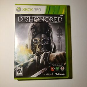 Dishonored Microsoft Xbox 360 2012 M-Mature Complete Tested/Working