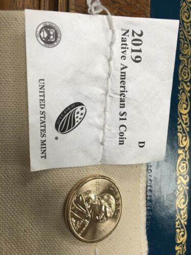 2019-D Sacagawea Native American Dollar US Mint Coin BU PRICE LISTED IS PER COIN