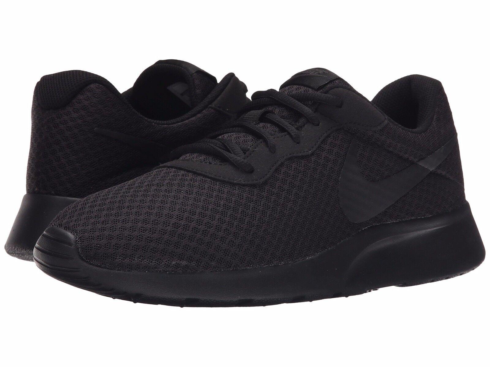 e0231853bc85 NIB Men s Men s Men s NIKE Tanjun Running Athletic shoes Sneakers Kaishi  Rosche Black Black a94515 ...