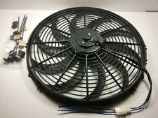 "16"" Heavy Duty Electric Fan 2300 CFM W/ Install Kit New Reversable SBC BBC 350"