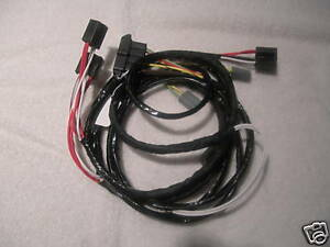 hemi mds wiring harness 1965 426 hemi dodge b-body headlight wiring harness. | ebay