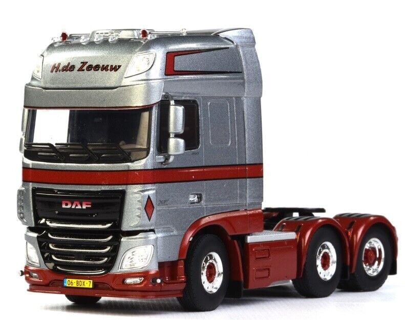 WSI01-1575 - Camion 6x2 solo DAF XF 116 SSC aux Coloreees H DE ZEEW - 1 50