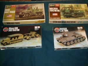 Military Car Lot >> Details About Airfix Hasegawa Military Vehicle Lot
