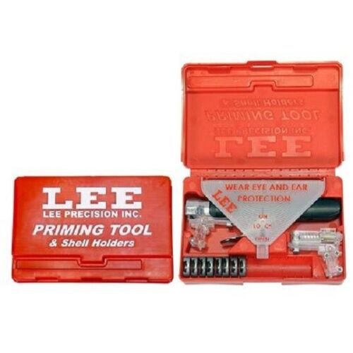 -8 Shellholders included 90215 Lee Priming Tool Kit