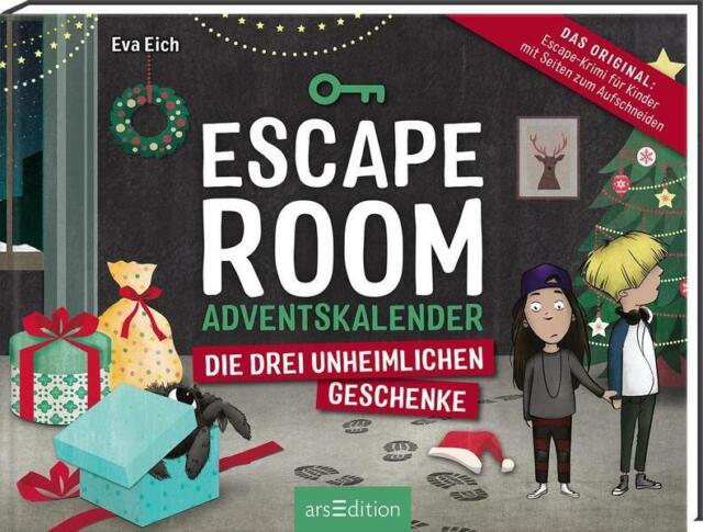 Escape Room. Der Adventskalender für Kinder von Eva Eich | Eva Eich | 2020 | NEU