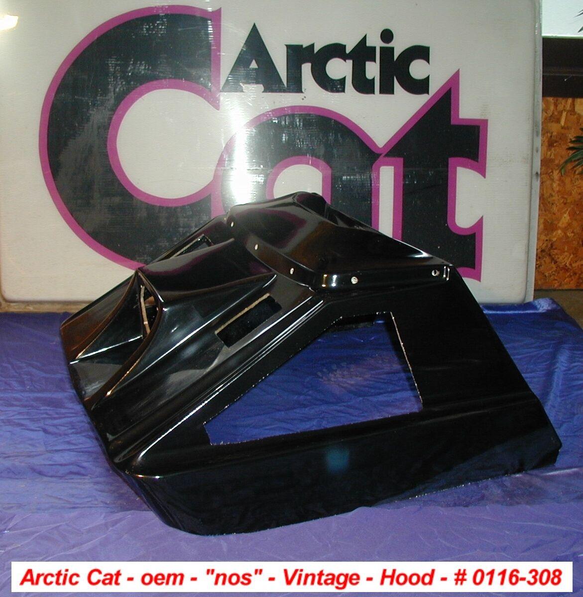 Arctic Cat oem Snowmobile Hood PUMA  NOS VINTAGE