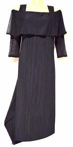 TS-dress-TAKING-SHAPE-plus-sz-XXS-12-Luxe-Pleat-Dress-cold-shoulder-NWT-rp-140