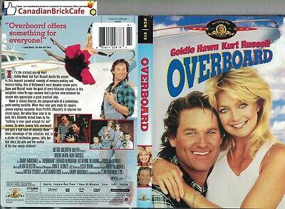 Overboard Dvd Goldie Hawn Kurt Russell Ebay