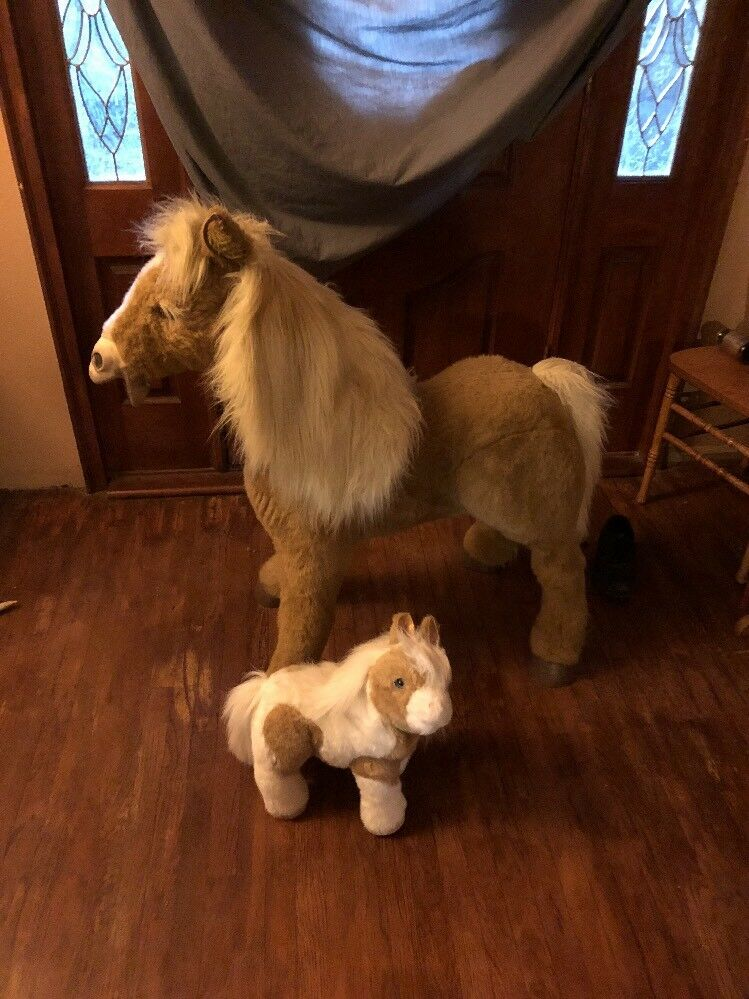 FurReal BUTTERSCOTCH & & & Mini Interactive Horse Hasbro Life Size Missing Battery dd2aef
