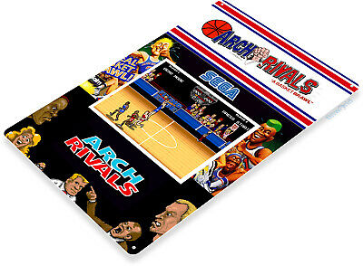TIN SIGN Arkanoid Arcade Shop Game Room Art Marquee Console Metal Décor A886