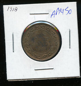1918-Canada-Large-Cent-MS60-Red-and-Brown-DC338