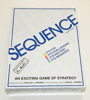 Sequence Board Game Jax Ltd.1995 Factory Sealed R9508