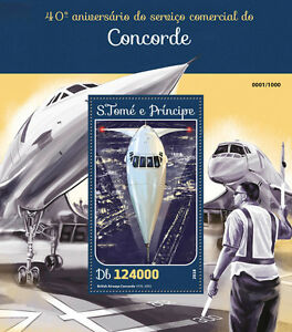 Sao-tome-amp-principe-2016-neuf-sans-charniere-concorde-service-commercial-1v-s-s-aviation-timbres