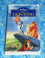 The Lion King Walt Disney Masterpiece VHS Video Tape Excellent Tested Condition