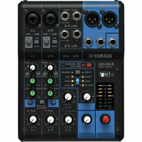 Yamaha MG06X 6-Channel Stereo Mixer with Effects  **BRAND NEW**
