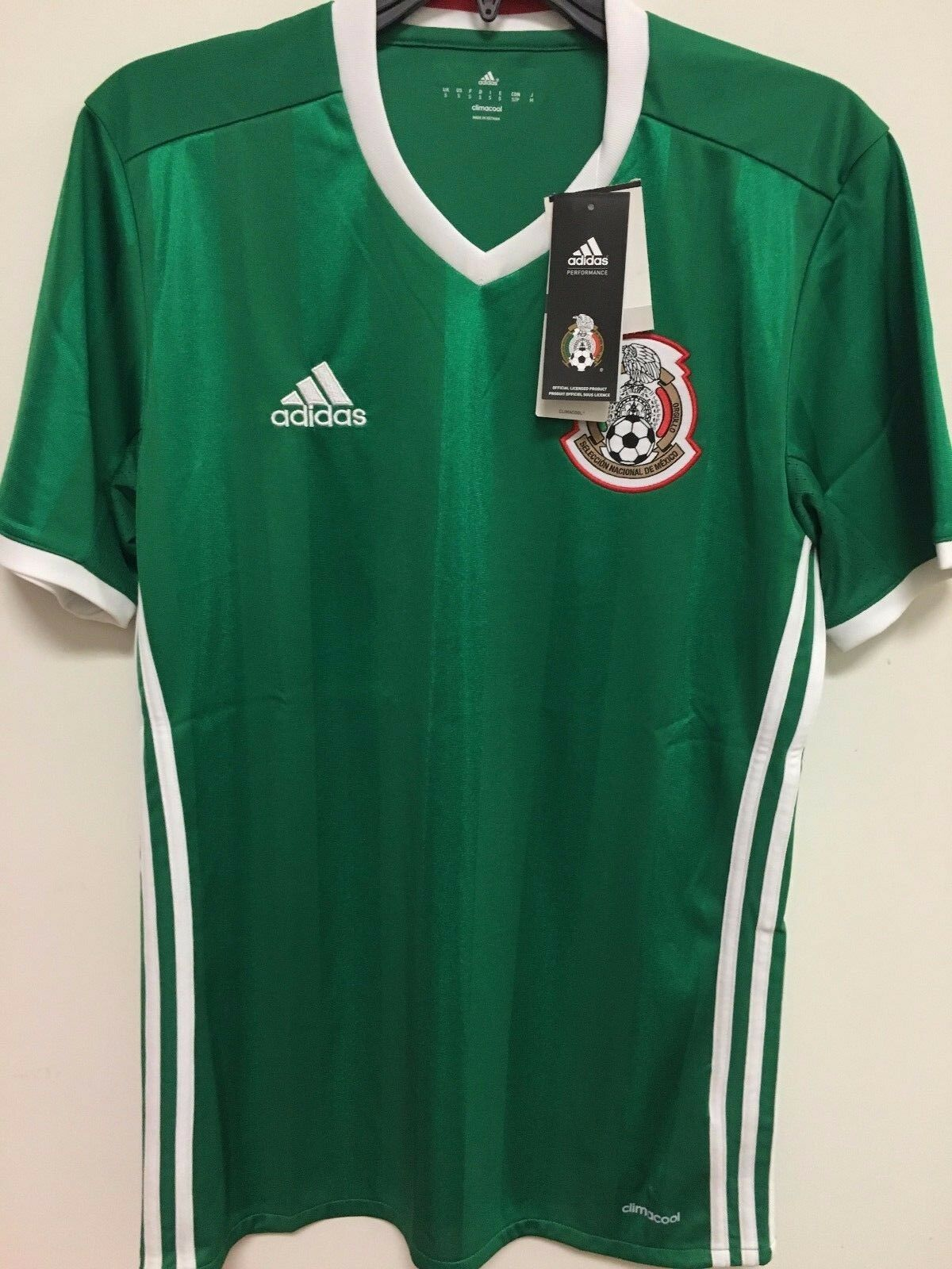 Adidas Mexico Official 2016 2017 Home Soccer Football Jersey