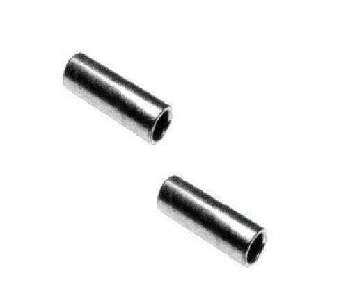 """Carbon Steel 5//16/"""" ID x 7//16/"""" OD x 1-7//64/"""" Long Spanner Bushing Pack of 2"""