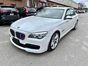 2014 BMW 7 Series M SPORT PKG, NAV, HEAD UP DISPLAY, ACTIVE CRUISE CONTROL