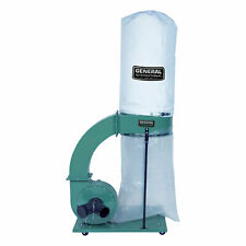 General International 15 Hp 14 Amp Commercial Dust Collector With 2 Micron Bag