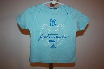 """Baseball & Softball Intellektuell New York Yankees """" Future Schlagmann """" Kleinkinder 6-9 Months Adidas Shirt Fanartikel"""