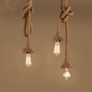 e27 110v 240v seil lampe h ngelampe pendel leuchte kronleuchter vintage stil ebay. Black Bedroom Furniture Sets. Home Design Ideas