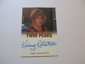 2018 Twin Peaks Kimmy Robertson as Lucy Moran Autograph Card Classic Version